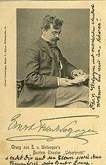 Ernst von Wolzogen założyciel Uberbrettla