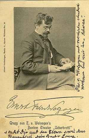 Wolzogen, Ernst von (1855-1934)