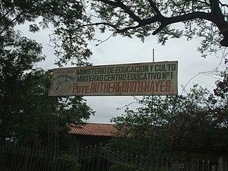 Villa Hayes - Image: Escuela Rutherford B. Hayes