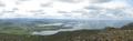 Esja Þverfellshorn panoramic view of Reykjavík.png