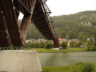 Pont en bois wikip dia - Construire un petit pont en bois ...