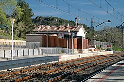Vilaverd train station