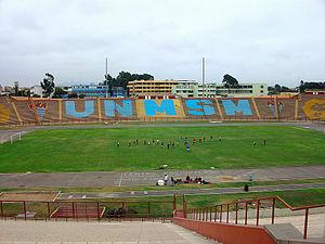 Estadio Universidad San Marcos - Image: Estadio UNMSM 1