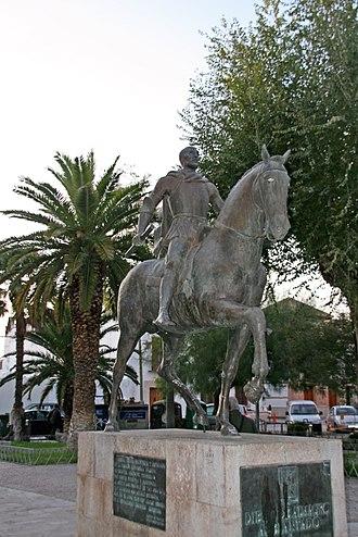 Diego de Almagro - Statue of De Almagro in Almagro, Spain