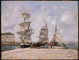 Harbor at Honfleur
