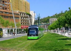 Tramway track