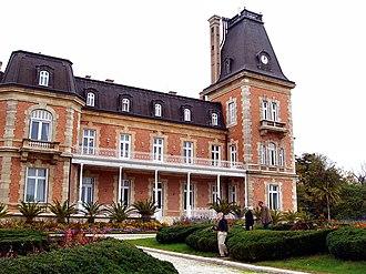 Euxinograd - Image: Euxinograd Palace view 1
