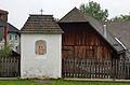 Evangelist shrine St. Mark 01, St. Ägydius, Fischbach, Styria.jpg