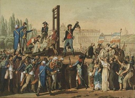 Exécution de Marie-Antoinette, Musée de la Révolution française - Vizille