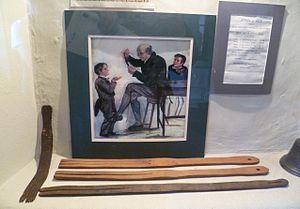 Tawse - Museum specimens of the tawse