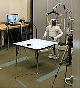 Experiemnt for studying how robots can help children learn - Shall We Play a Game? - Honda Research Institute, 2009-01-12 19.09.17 (by Steve Jurvetson).jpg