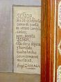 Exvoto de San Sebastián, Ángel Zárraga (firma).JPG