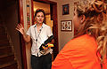 FEMA - 32429 - FEMA inspector inside an Ohio home..jpg