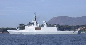 April 2009 raid off Somalia - The French frigate Aconit