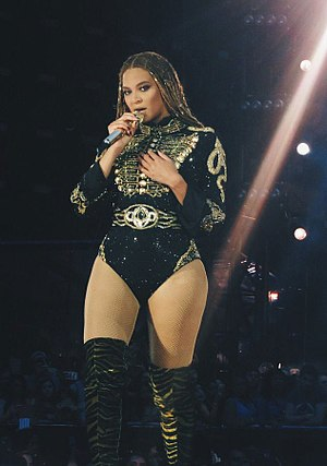 The Formation World Tour - Beyoncé worked with a variety of designers for her tour costumes, including a piece by Peter Dundas of Roberto Cavalli (pictured).