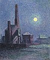 Factory in the Moonlight by Maximilien Luce, 1898.jpg