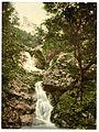 Fairy Glen Waterfall, Penmaenmawr, Wales-LCCN2001703533.jpg