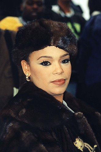 Faith Evans - Evans at the Million Woman March, 1998