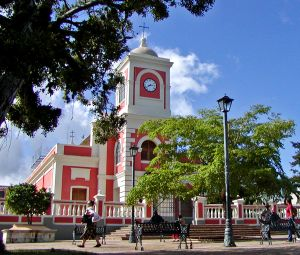 Fajardo, Puerto Rico - View of the church