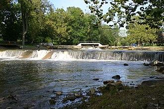 Pendleton, Indiana - Falls Park