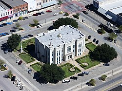 Fannin County Courthouse, Bonham, Texas. Built in 1889