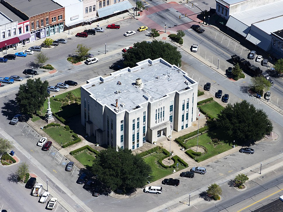 Fannin County Courthouse, Bonham, Texas, built in 1889