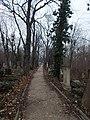 Farkasréti Jewish cemetery. Main road (N). - Budapest.JPG