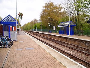 Farnborough North railway station - Image: Farnborough north station
