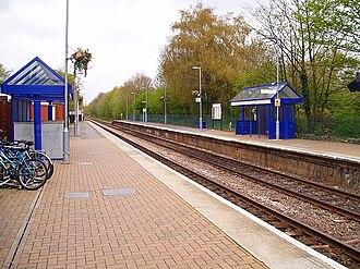 Farnborough North railway station - Image: Farnborough north station