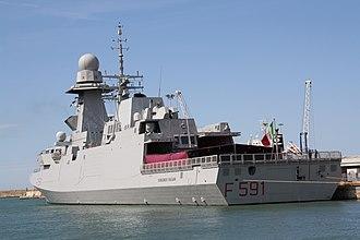FREMM multipurpose frigate - Italian ASW FREMM Virginio Fasan