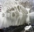 Fekete-tó (Czarny Staw nad Morskim Okiem) a Tengerszem (Rysy) csúcsnál. Fortepan 86835.jpg