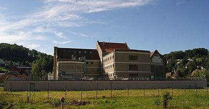 So kommt man zu Justizanstalt Feldkirch mit den Öffentlichen - Mehr zum Ort Hier