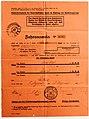 Feldpost von Hans 1935-08-05 Fahrausweis Vaterländische Front 1.JPG