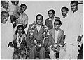 Felicitation of Prof. Meghnad Saha upon his election to the Indian Parliament in 1952.jpg