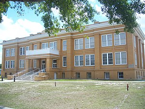 National Register of Historic Places listings in Indian River County, Florida - Image: Fellsmere FL Public School 01