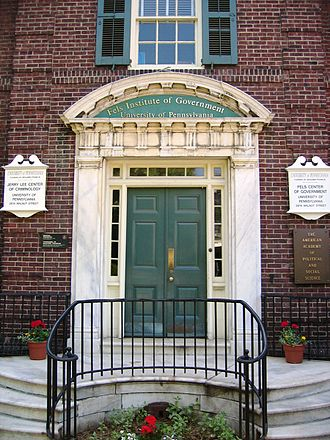 Fels Institute of Government - Fels Institute of Government