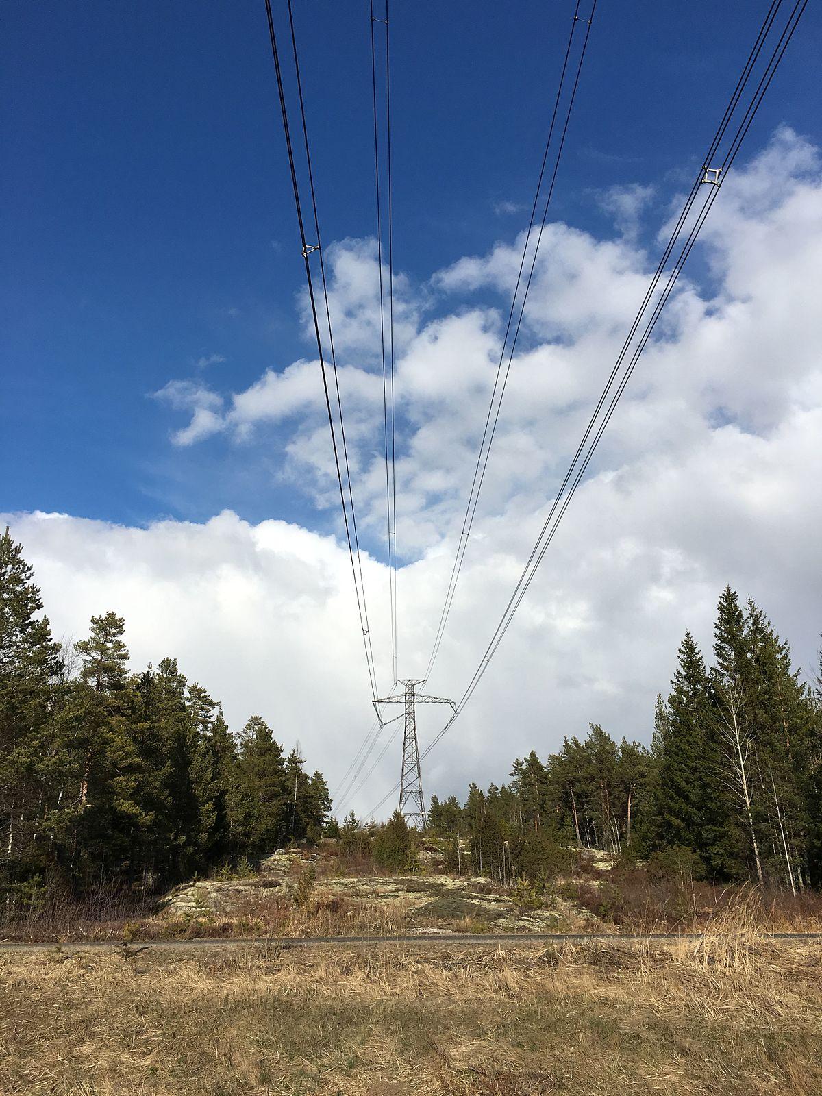 Overhead Power Line : Fenno skan wikipedia