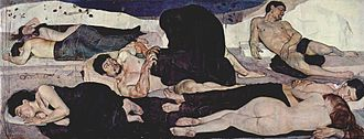 Ferdinand Hodler - Night, 1889–1890, Berne, Kunstmuseum