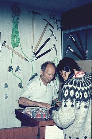 Fernand Petzl - Fernand Petzl in 1979