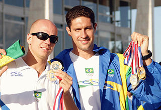 Gustavo Borges Brazilian swimmer, Olympic bronze medalist