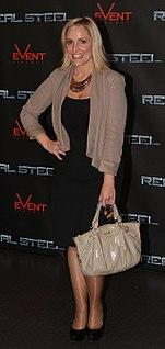 Fifi Box Australian radio broadcaster, television presenter, actress