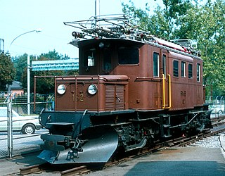 class of 1 Swiss narrow-gauge electric locomtive