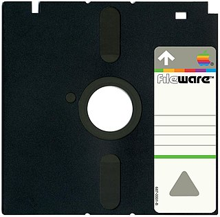 Apple FileWare floppy disk drives and diskettes by Apple