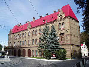 State Emergency Service of Ukraine - The main fire station of Lviv