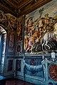 Firenze - Florence - Palazzo Vecchio - 2nd Floor - Sala dell' Udienza - View on NE Corner I.jpg