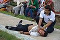 First Aid and Emergency Management Session - Summer Camp - Nisana Foundation - Sibpur BE College Model High School - Howrah 2013-06-08 9082.JPG