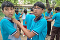 First Aid and Emergency Management Session - Summer Camp - Nisana Foundation - Sibpur BE College Model High School - Howrah 2013-06-08 9158.JPG
