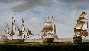 Borrowdale (1785 ship) - Borrowdale, First Fleet, from three angles