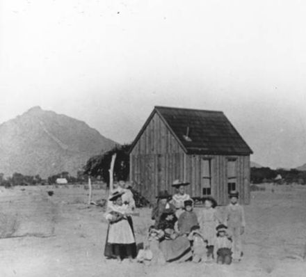 First schoolhouse in Scottsdale First Schoolhouse 1896.jpg