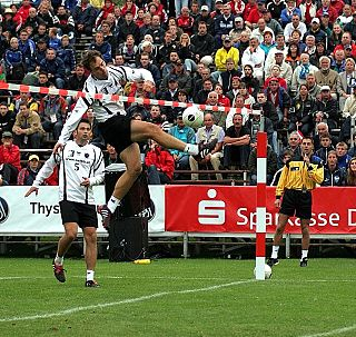 Fistball a sport similar to volleyball